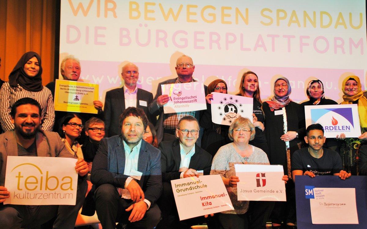 Sie sind temperamentvoll, ehrgeizig und zäh: Vertreter aus 15 Gruppen haben die Bürgerplattform Spandau gegründet.