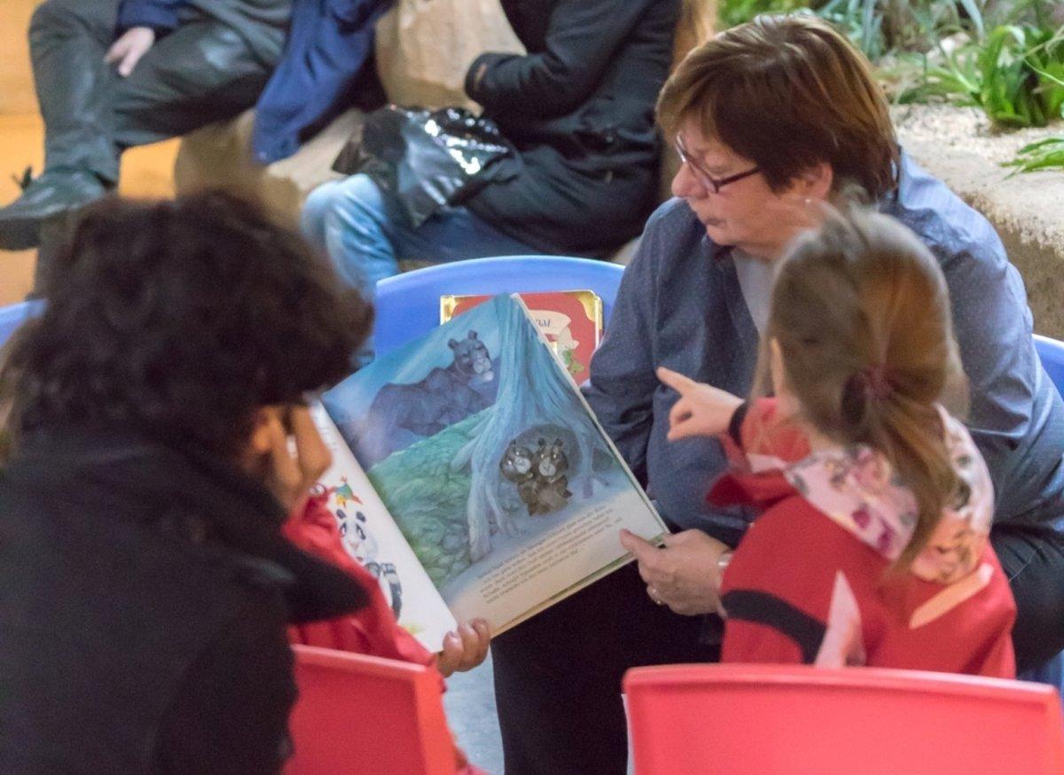 Tierische Geschichten kommen bei Kindern an.