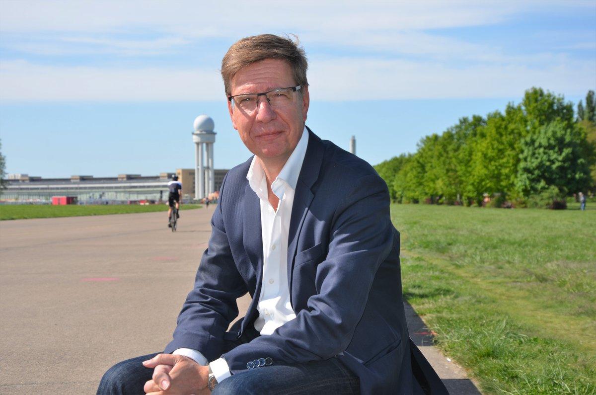 Michael Krebs Ist Parkmanager Vom Tempelhofer Feld Tempelhof