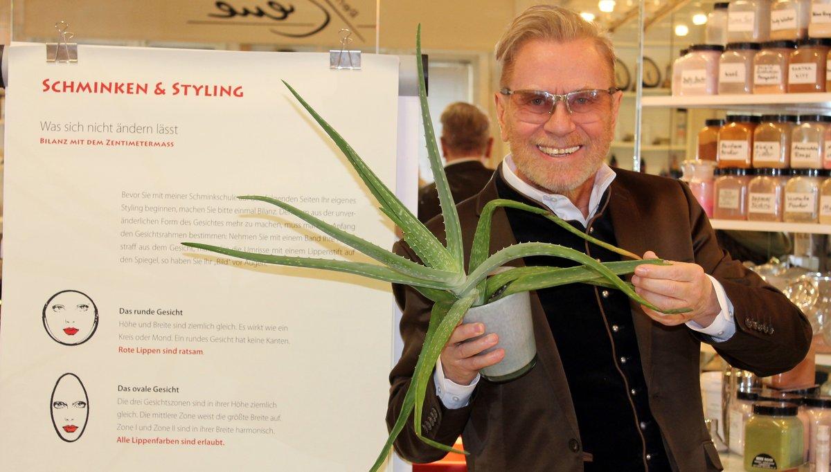 Effektive Beautyhilfe: René Koch über Aloe Vera, Quelle der Jugend ...