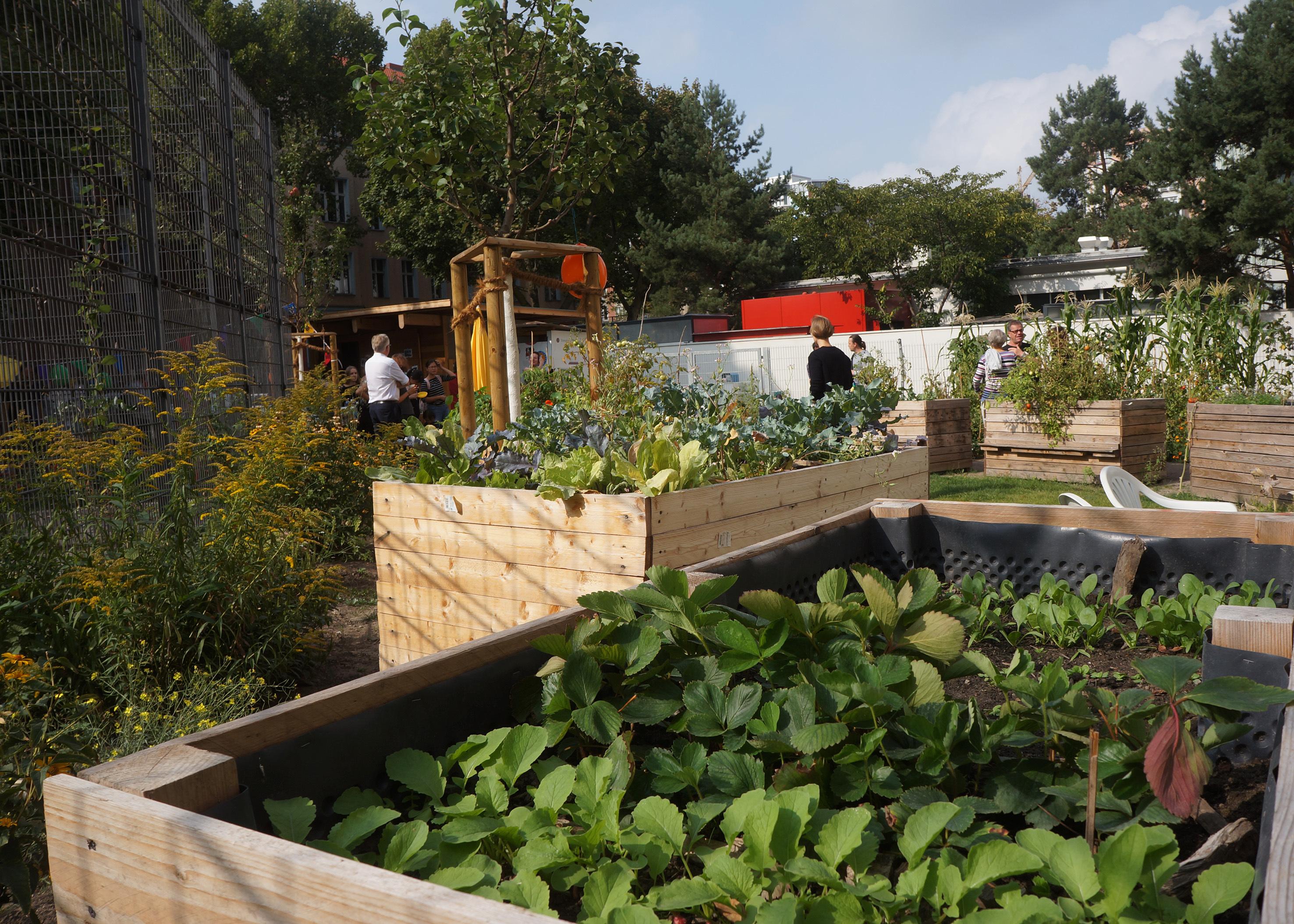 urban gardening thema. Black Bedroom Furniture Sets. Home Design Ideas