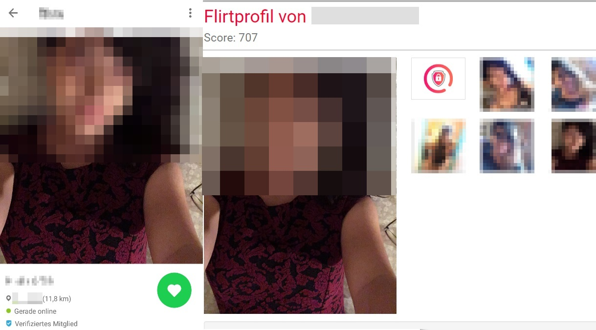 Frau mit dating-apps