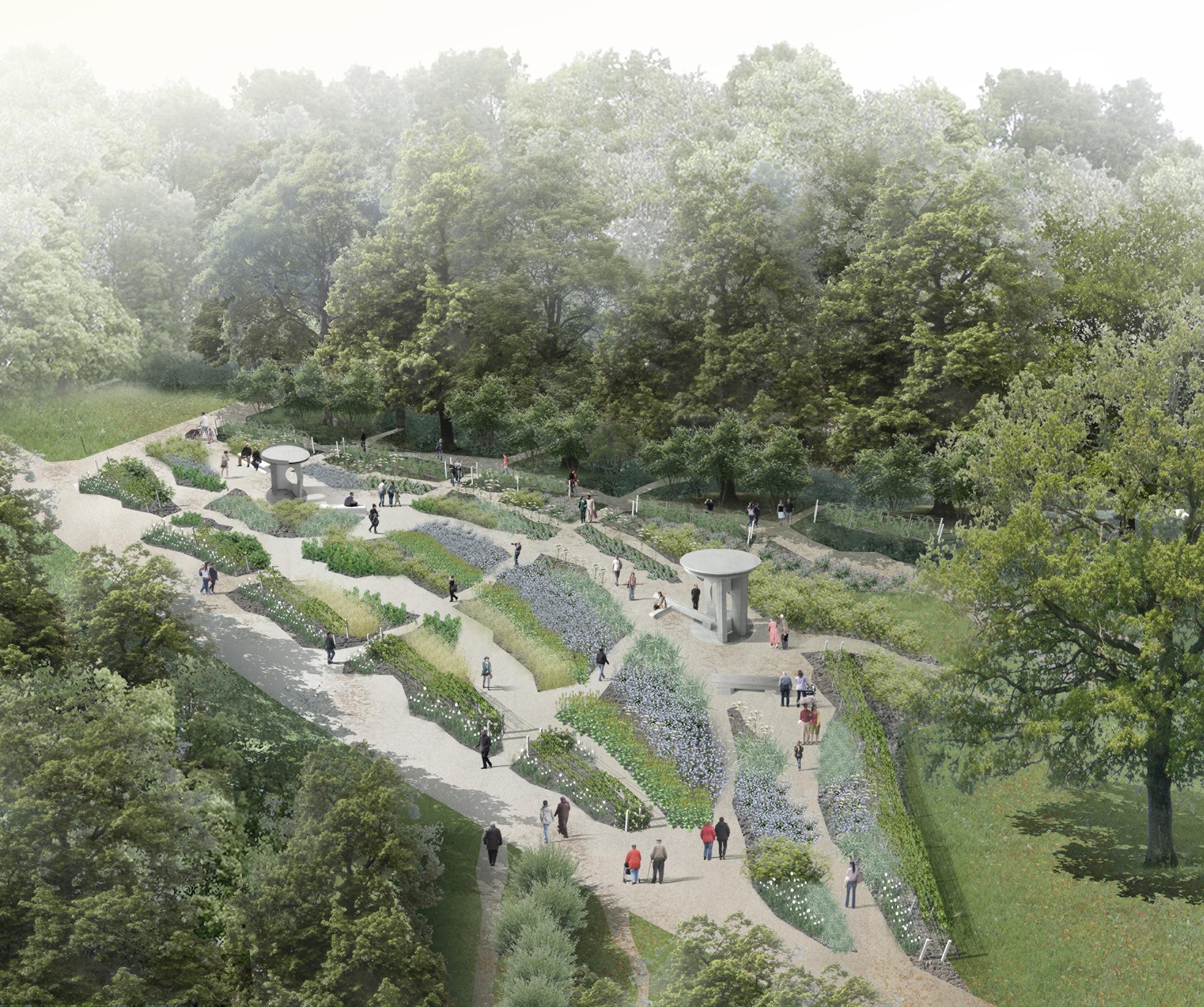 Orientalischer Garten Marzahn: Auf Der Höchsten Erhebung: Gärten Der Welt Erhalten Einen