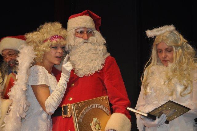 Studentenwerk Weihnachtsmann