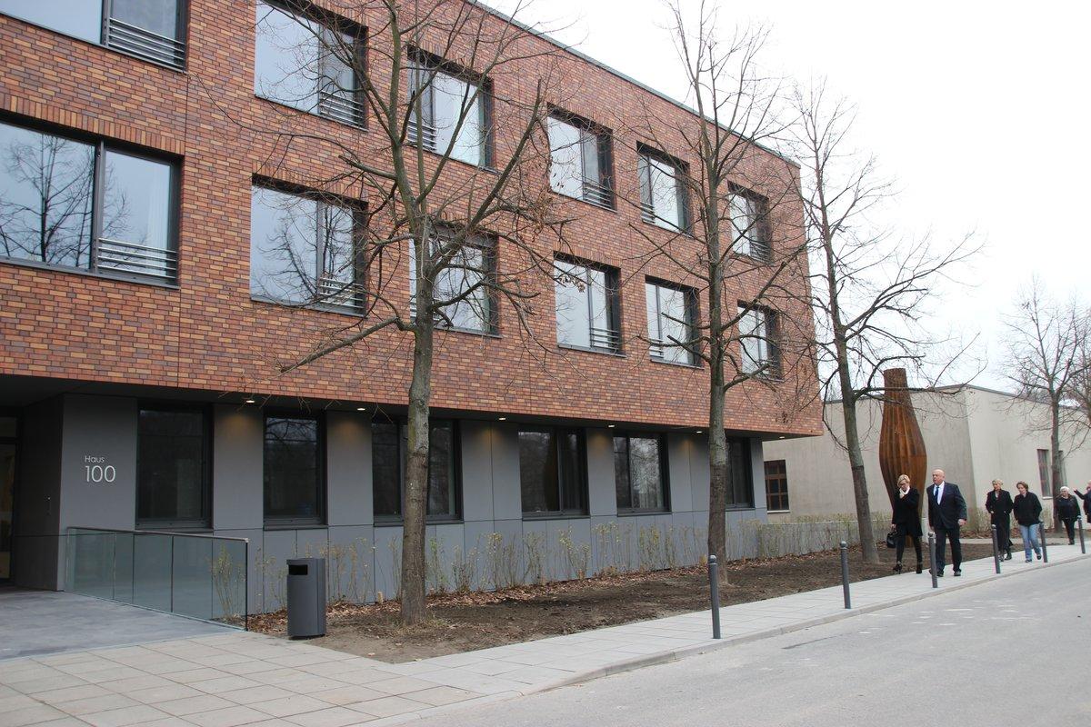 Mehr Platz Bessere Versorgung Neubau Im Krankenhaus Herzberge Ist