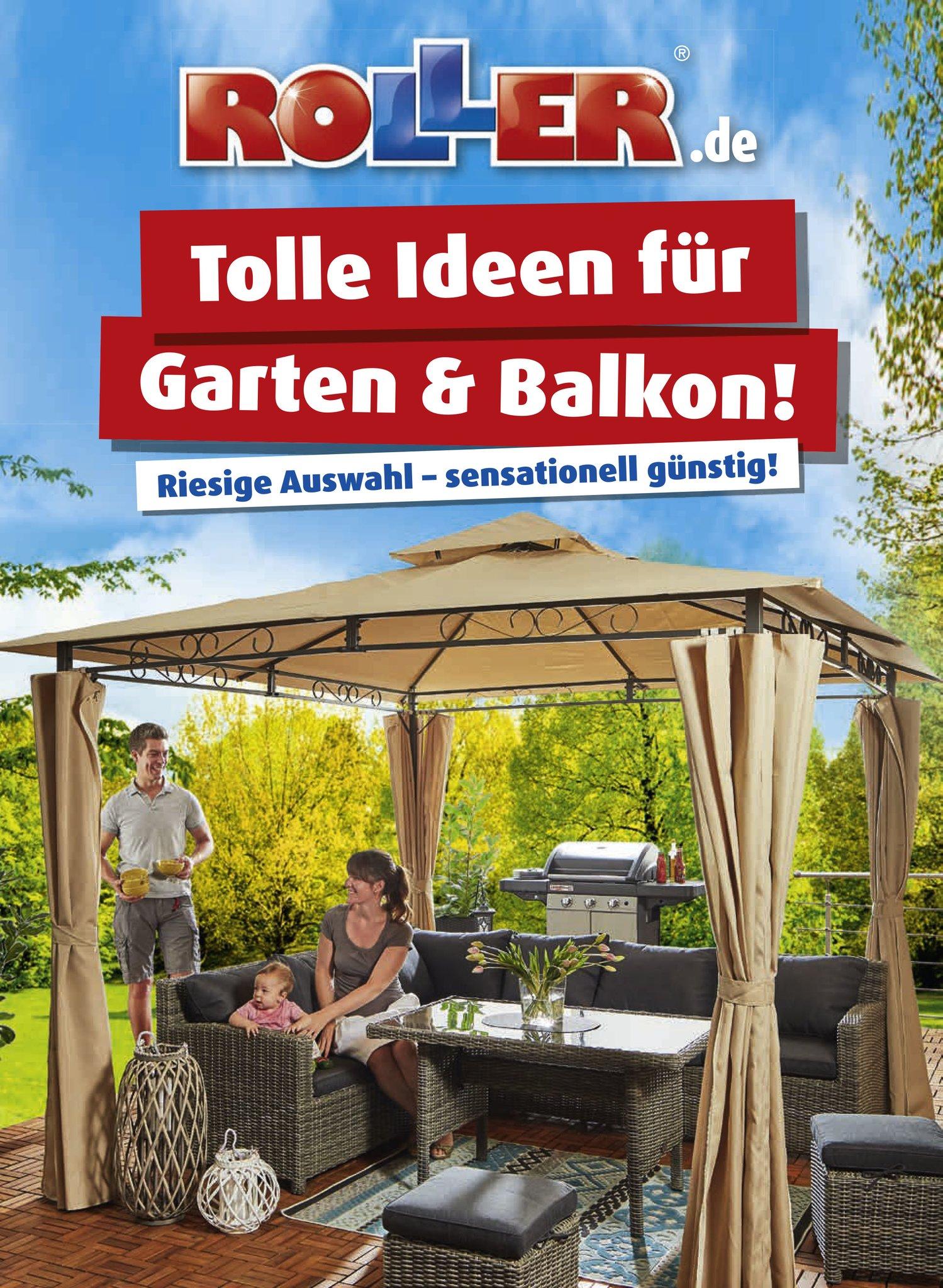 1ad7fa7f54619e Der neue Garte-Katalog von ROLLER ist erschienen und bietet eine große  Auswahl an Garten