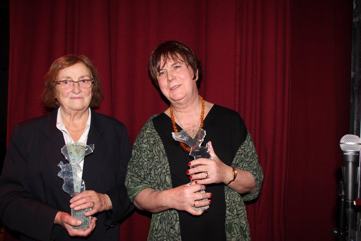 Der Frauenpreis 2019 wurden an Dr. Annelies Roloff (links) und Doris Nabrowsky (rechts) verliehen.