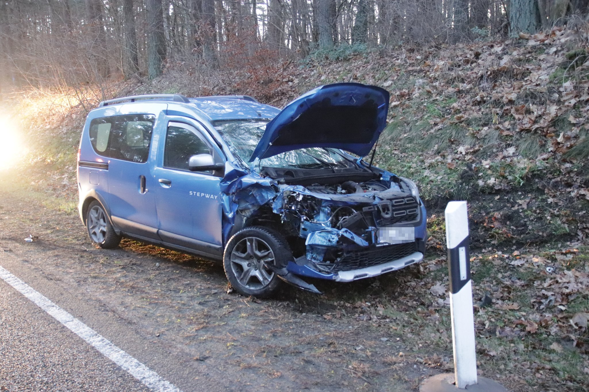 Strausberg Unfall Umgehungsstraße