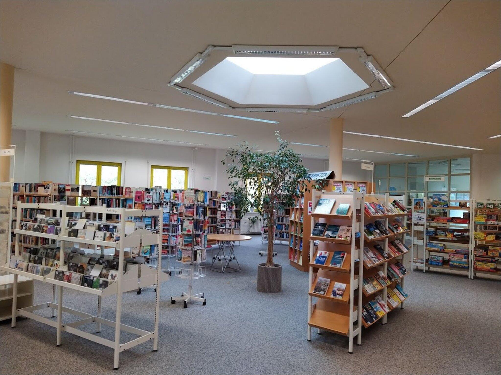 Stadtteilbibliothek im Bürgerhaus Altglienicke soll moderner werden...