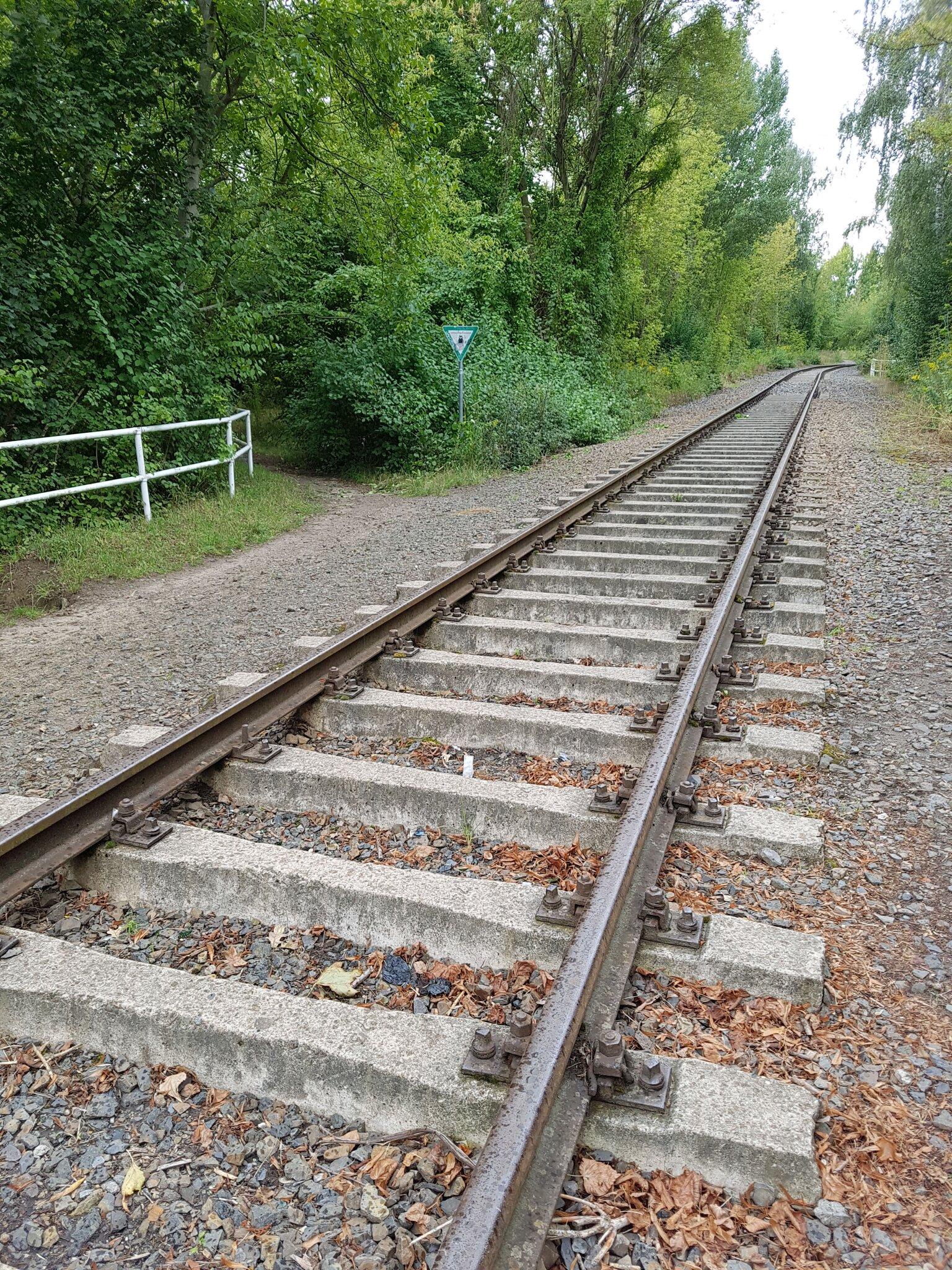 Mit der Heidekrautbahn entsteht an der Grenze...