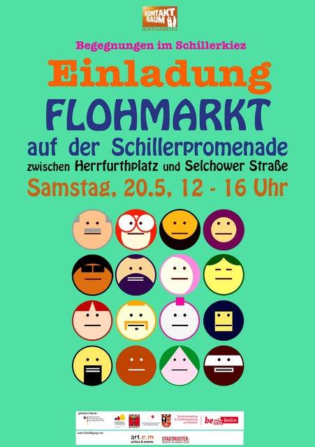Tausch Und Flohmarkt Im Schillerkiez Neukolln Auf Der