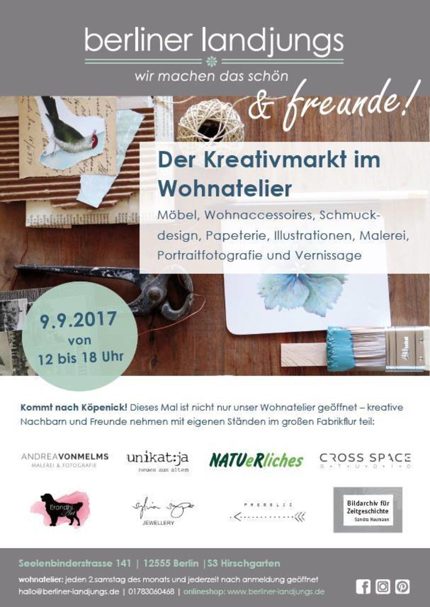 Berliner Landjungs Freunde Kleiner Kreativmarkt