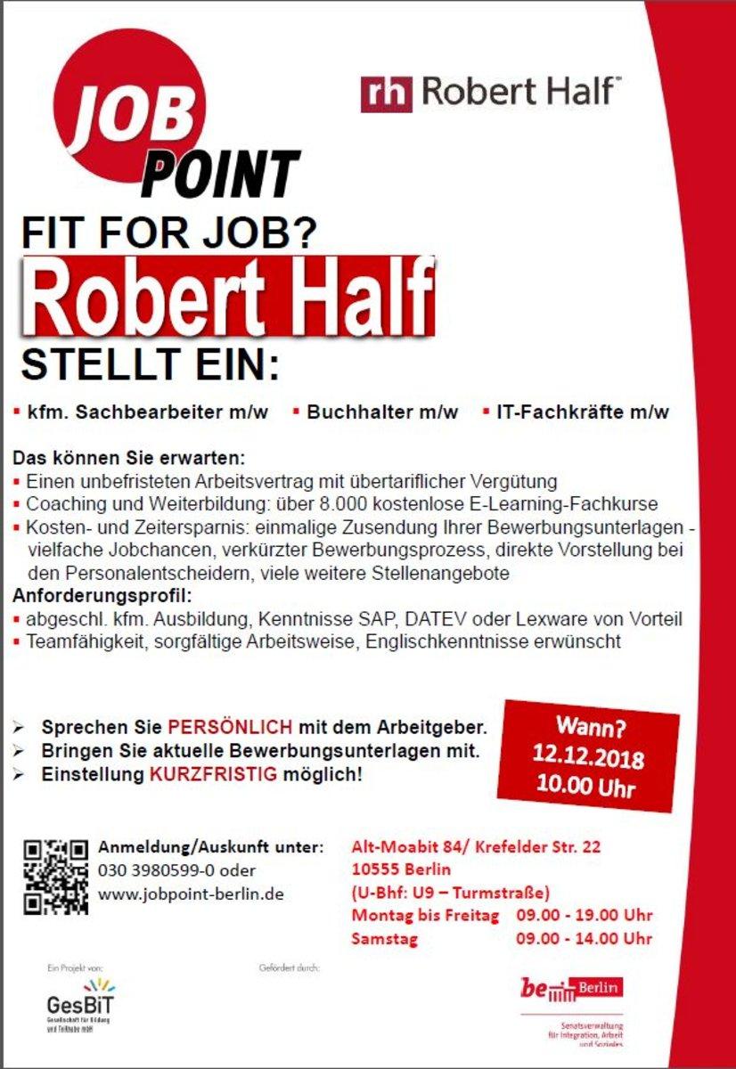 Robert Half Deutschland Gmbh Co Kg Erwartet Sie