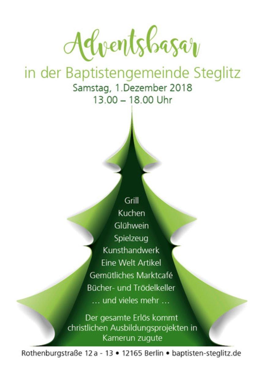 Adventsbasar Baptistengemeinde Steglitz